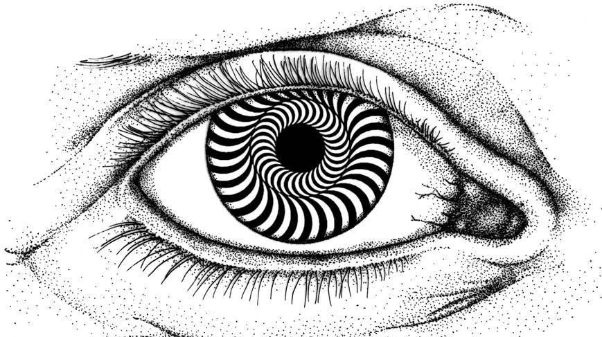 eyes trick illusion eye mind illusions optical motion drawings tricks simple vision were story because medical illustration perceive which way